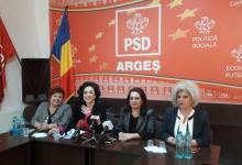 Simona Bucura Oprescu: Ar fi fost normal ca liderul PSD Argeş să fie la moţiune!