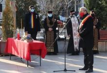 Ceremonie restrânsă  la Mioveni, de Ziua Națională