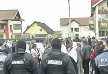 Jandarmi în centrul Piteştiului