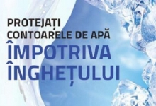 Apă Canal, anunţ despre protejarea instalaţiilor de apă pe timpul iernii