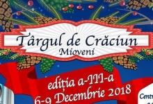 Târgul de Crăciun din Mioveni îşi deschide porţile pe 6 decembrie