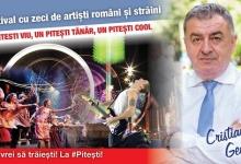 CRISTIAN GENTEA: ORGANIZĂM LA PITEȘTI FESTIVALUL CARE VA PUNE ORAȘUL PE HARTA MARILOR EVENIMENTE DIN...