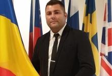 Gino Marinescu, șeful PNL Ungheni, vă spune Cristos a Înviat!
