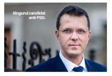 Ionuț Moșteanu, singurul candidat anti-PSD!