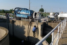 Lucrări importante la Stația de Epurare a orașului Mioveni