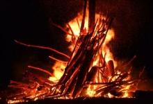 Argeșean amendat pentru că a făcut Focul lui Sumedru