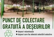 Punct de colectare gratuită a deșeurilor voluminoase și a celor reciclabile, la Stația de Epurare Mi...