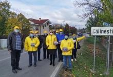JURNAL DE CAMPANIE. Liberalii argeșeni au fost azi în comunele de pe valea Cârcinovului și valea Rân...